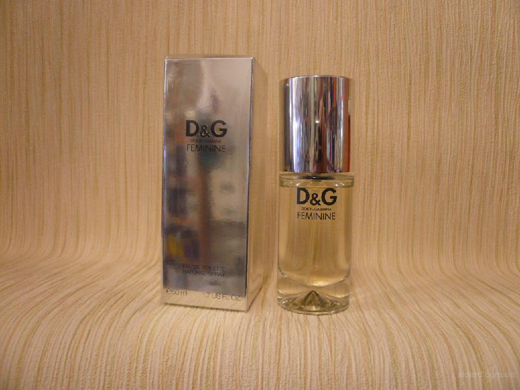 Dolce & Gabbana - D & G Feminine (1999) - edt 50ml - Редкая Оригинальная Парфюмерия