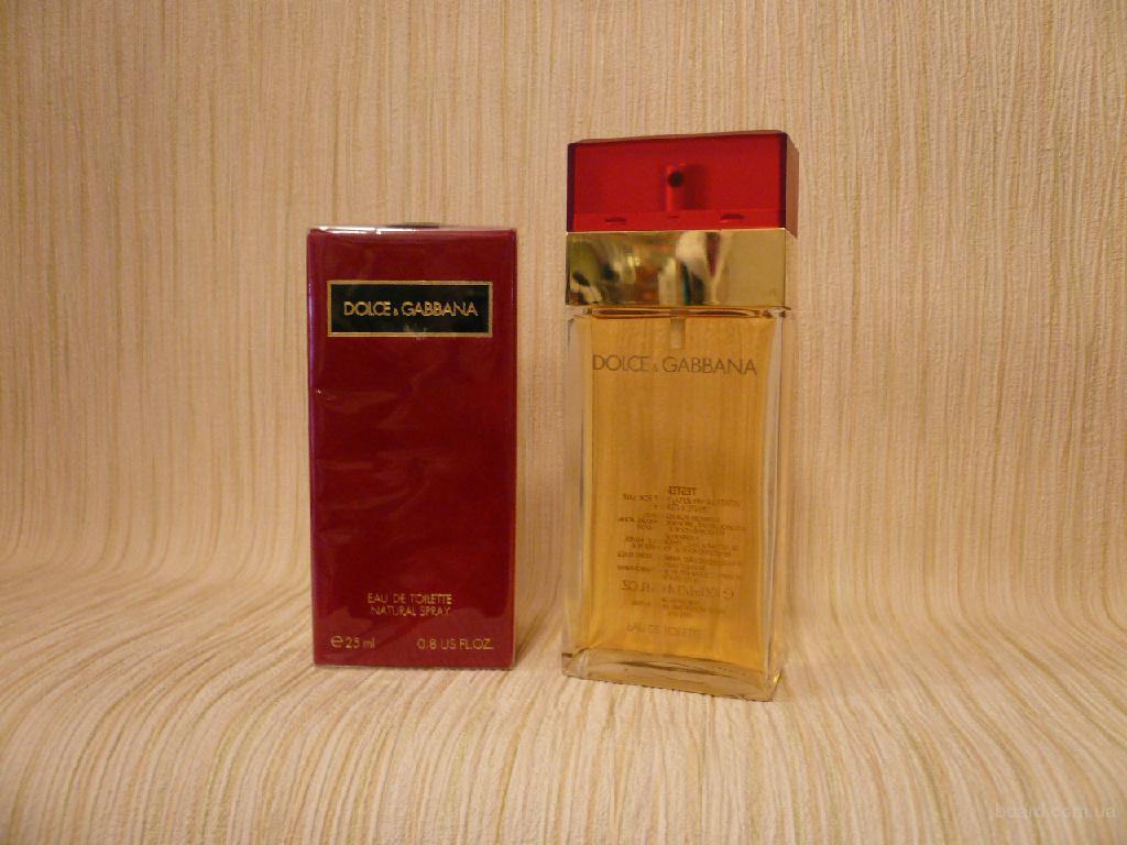 Dolce & Gabbana - Dolce & Gabbana (1992) - edt 100ml (tester) - Редкая Оригинальная Парфюмерия