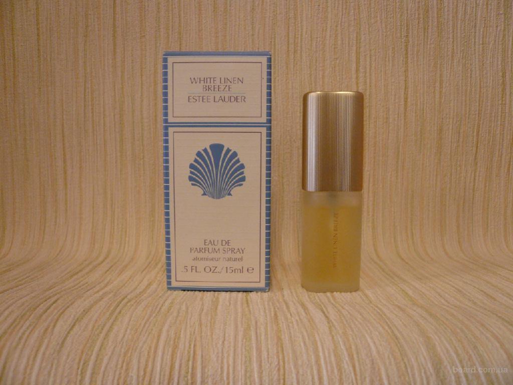 Estee Lauder - White Linen Breeze (1996) - edp 15ml - Редкая Оригинальная Парфюмерия