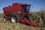 Услуги по уборке кукурузы комбайн Case 2388+герингоф