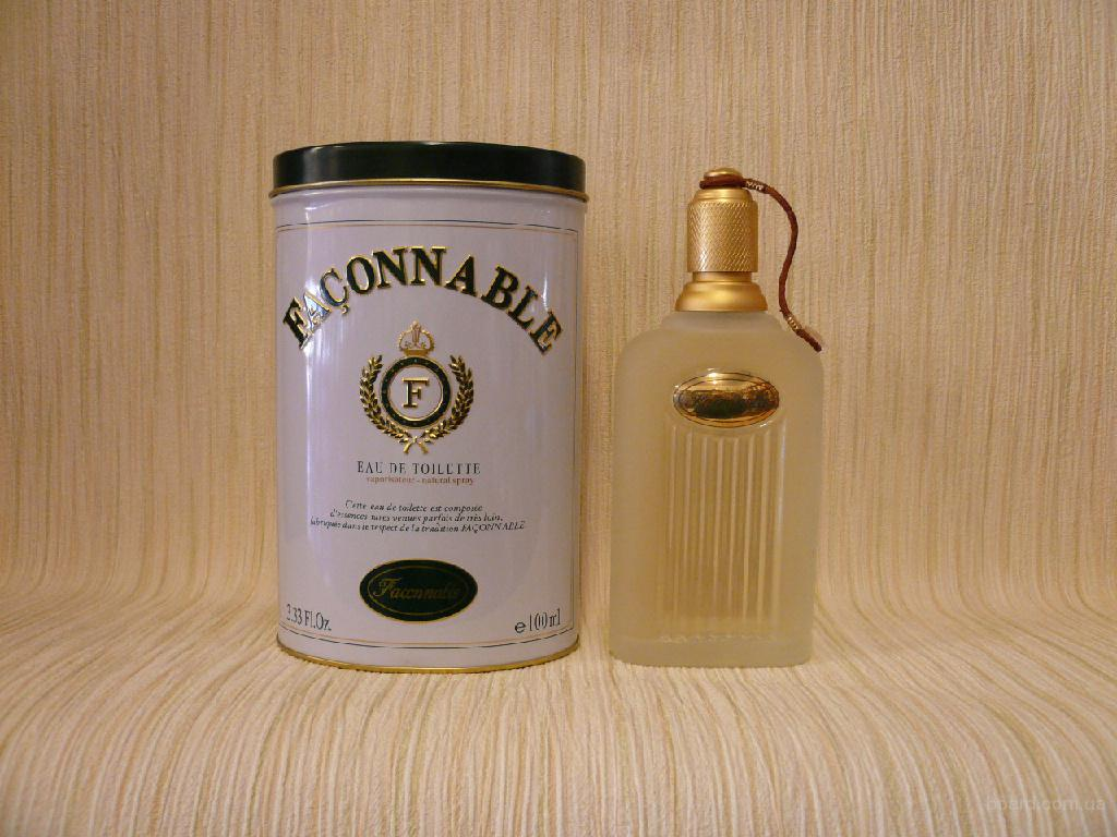 Faconnable - Faconnable (1994) - edt 100ml - Редкая Оригинальная Парфюмерия