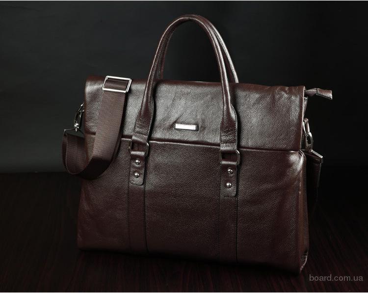 Мужская сумка клатч из натуральной кожи