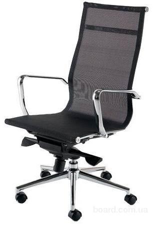 Роликовые кресла-сетка Невада черная куп
