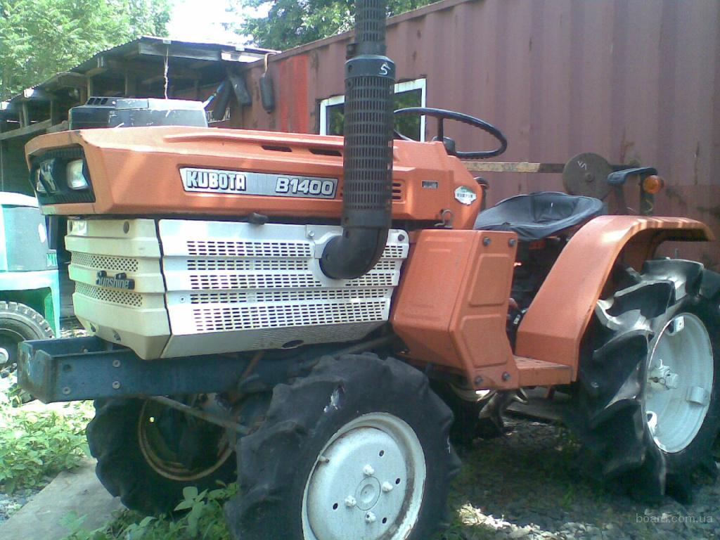 Продажа японских тракторов в Одессе «Тотус Авто»