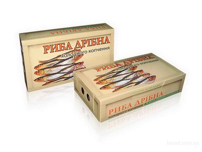 Упаковка для мелкой рыбы Харьков