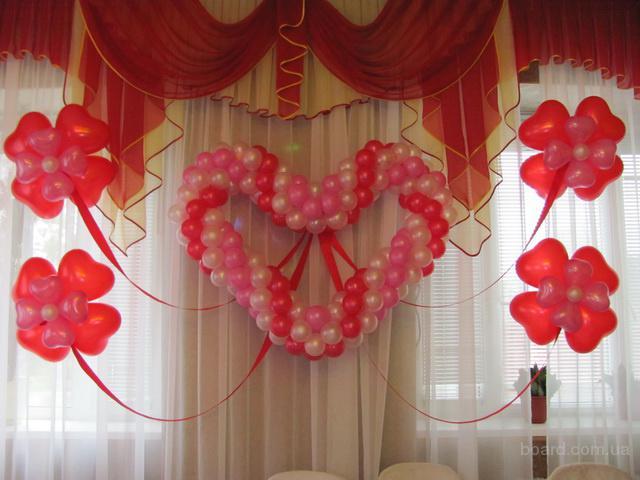 Как украсить зал на свадьбу своими руками лентами и шарами 79