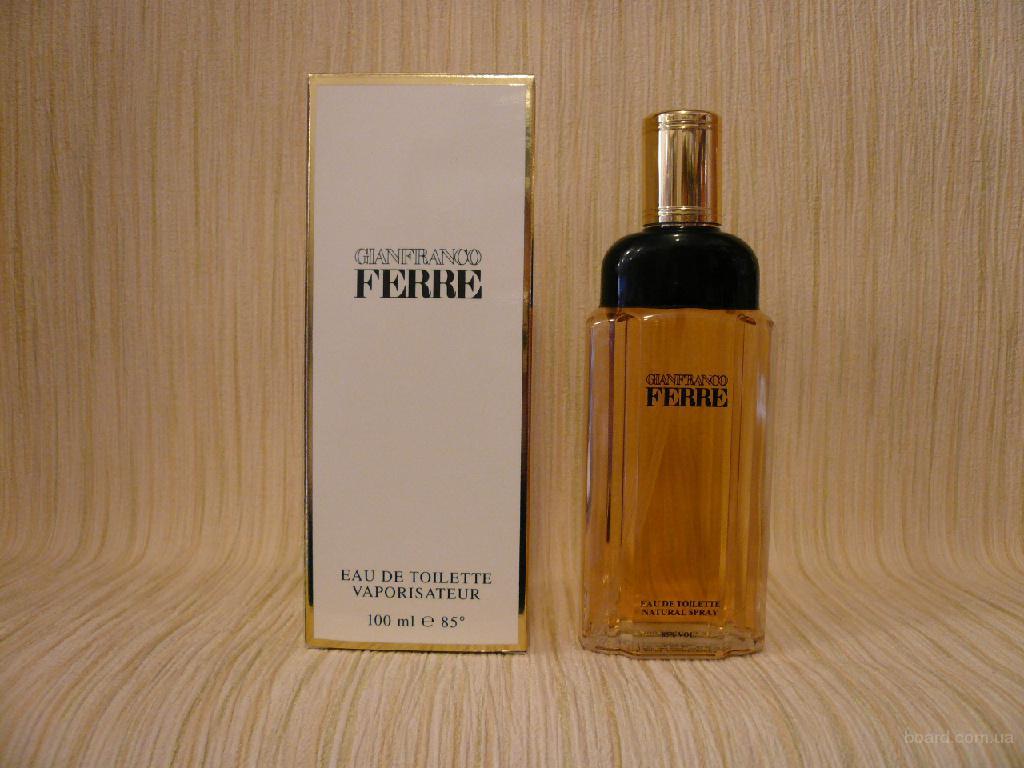 Gianfranco Ferre - Gianfranco Ferre For Woman (1984) - edt 100ml - Редкая Оригинальная Парфюмерия