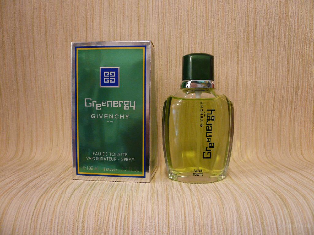 Givenchy - Greenergy (2000) - edt 100ml - Редкая Оригинальная Парфюмерия