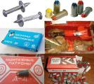 Патрон индустриальный Д3, Д4, 6,8х18 для монолитно-каркасных работ – пристрелки опалубки, сеток дюбель-гвоздь 4,5х30,