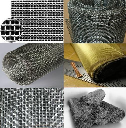 Сетка тканая латунная ячейка 0,04-2,5мм из проволоки 0,03-0,5мм – для фильтров, решет, разделения и просеивания по величине сыпучих материалов