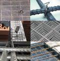 Сетка армирования покрытий паркингов, крыш зданий 100х100, 150х150, 200х200 из проволоки ВР-1 3, 4, 5,