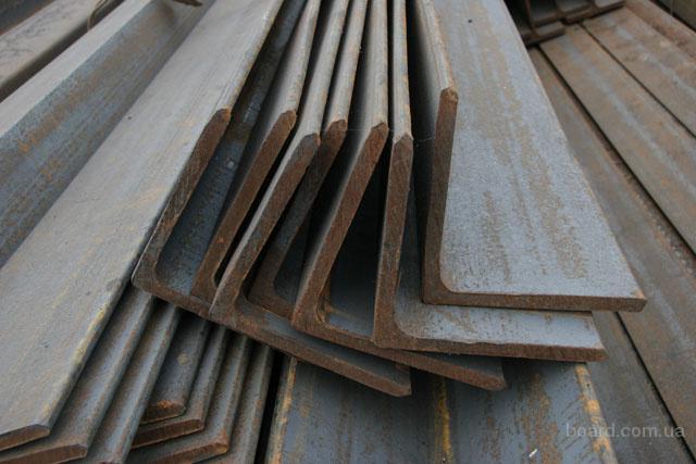 Продам уголок гнутый 2,0 - 8,0 мм Длина от 2 до 6 метров