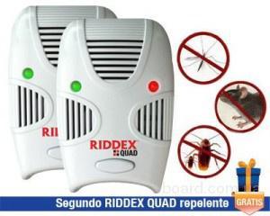 Универсальный отпугиватель грызунов и тараканов Riddex Quad
