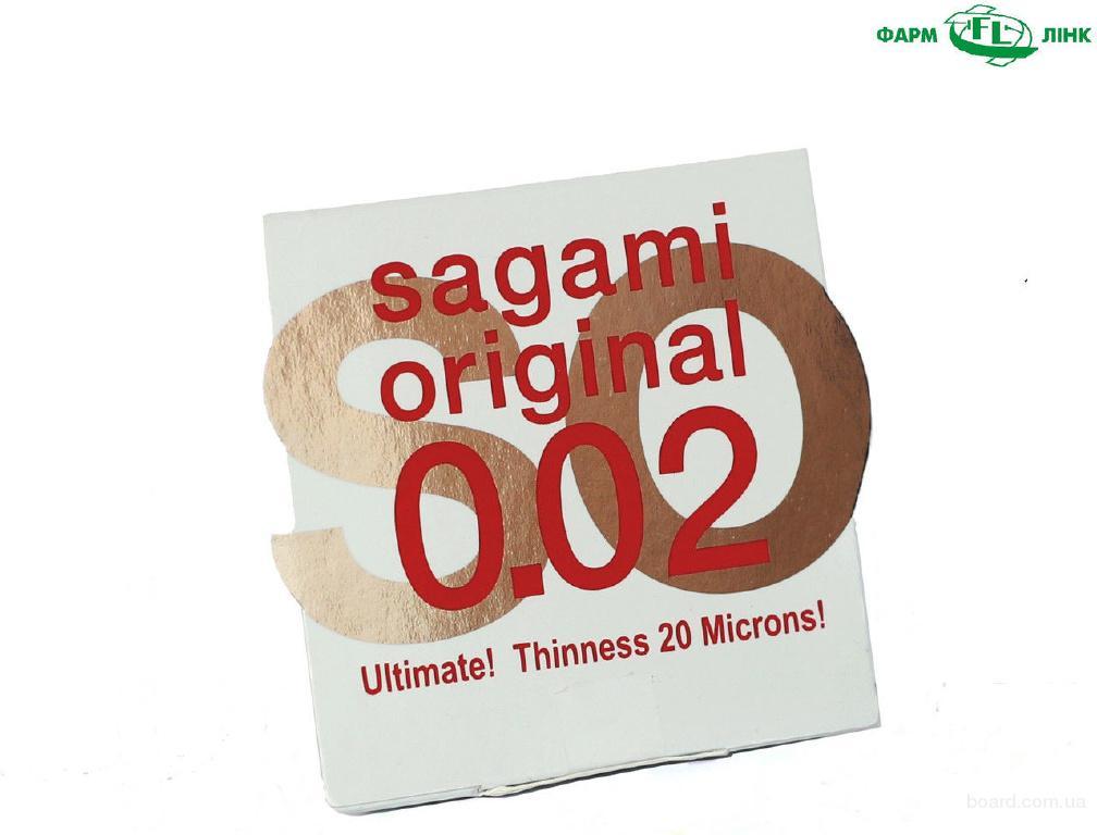Презервативы полиуретановые Сагами 0.02