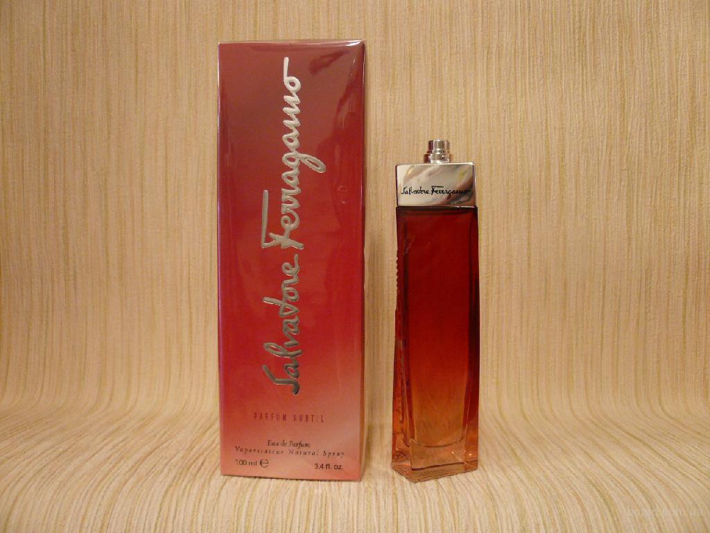 Salvatore Ferragamo - Parfum Subtil (2002) - edp 100ml - Редкая Оригинальная Парфюмерия