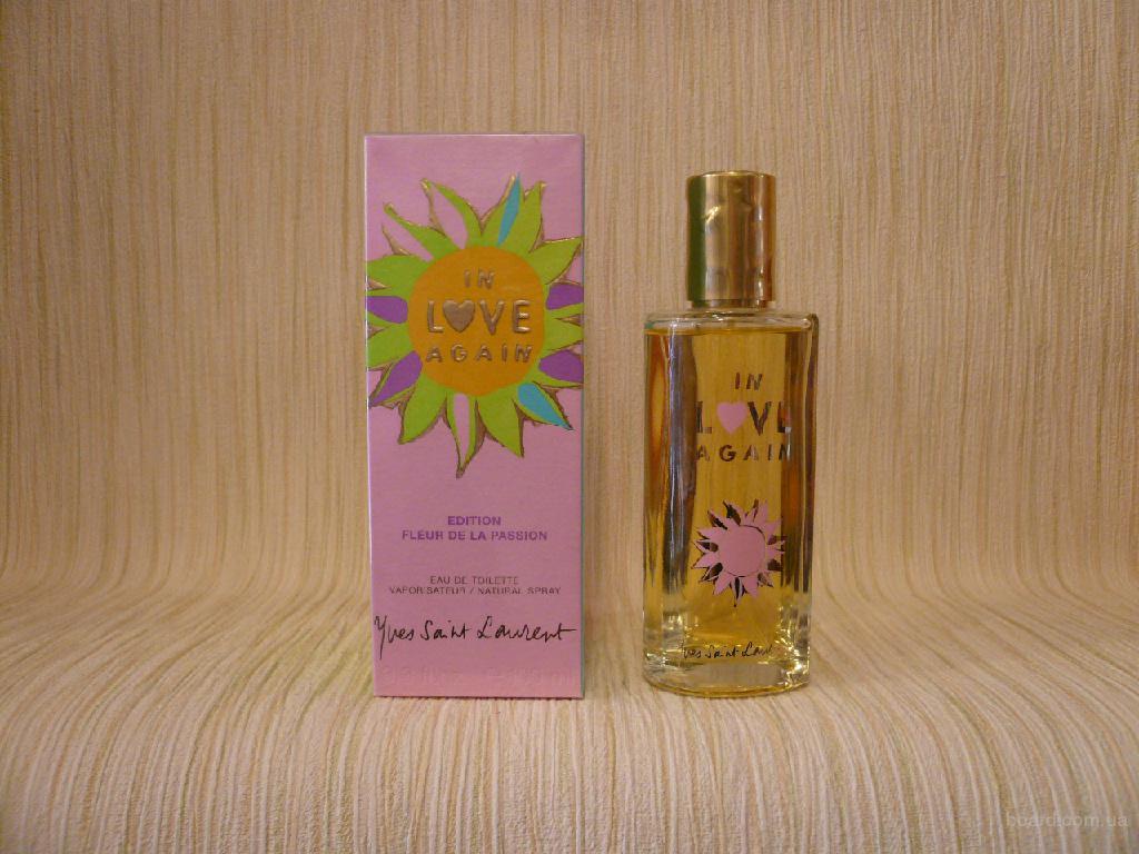 Yves Saint Laurent - In Love Again Fleur De La Passion (2004) - edt 100ml - Редкая Оригинальная Парфюмерия