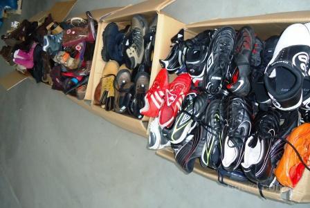 Обувь секонд хенд экстра-крем сорта по 7, 5 евро/кг. Есть новая обувь (сток) .