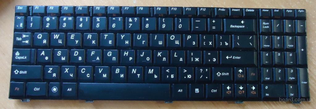 Клавиатура Lenovo G565 G565A G560 G560A G560E НОВА