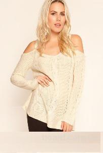 Вязаный свитер Нежность