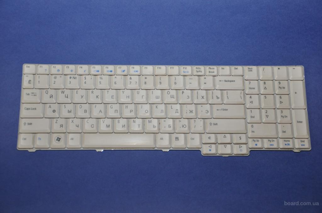 Клавиатура Acer Aspire 7220 7320 Новая Белая