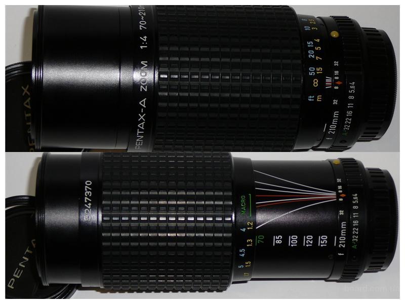 SMC Pentax-A 70-210mm 1:4 Macro