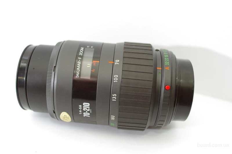 Pentax Takumar-F Zoom 70-210mm 1:4-5.6 Автофокусный