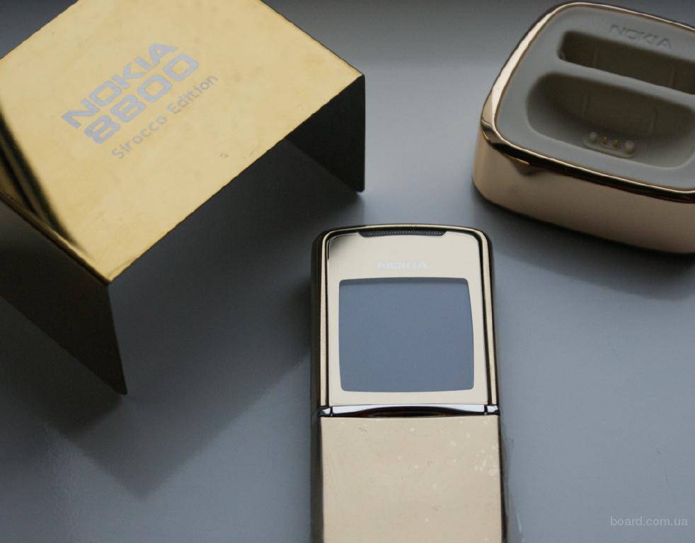 Продам Nokia 8800 Sirocco Gold Edition Новый с Гарантией