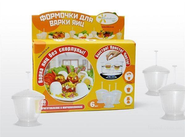 Емкости для варки яиц без скорлупы, яйцеварки Эггиз (Eggies)