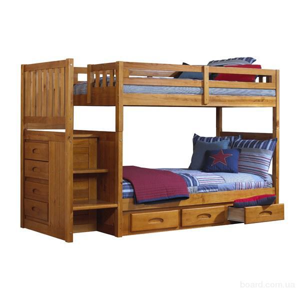 Детская,двухъярусная кровать Саванна-Плюс