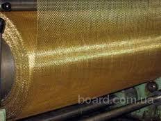 Сетка тканая латунная Л-800,08-0,055100 см ГОСТ 6613-86