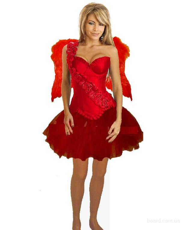 Великолепный страстный Ангел, карнавальный костюм, Хеллоуин