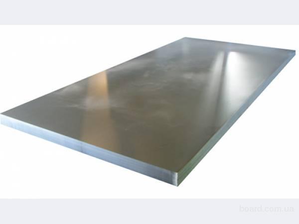 Оцинкованный лист 1.0 х 1000 х 2000 мм