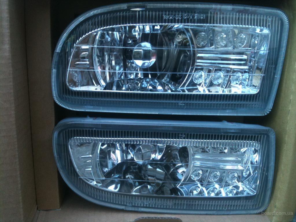 Фара противотуманная с LED подсветкой Toyota Land Cruiser 100