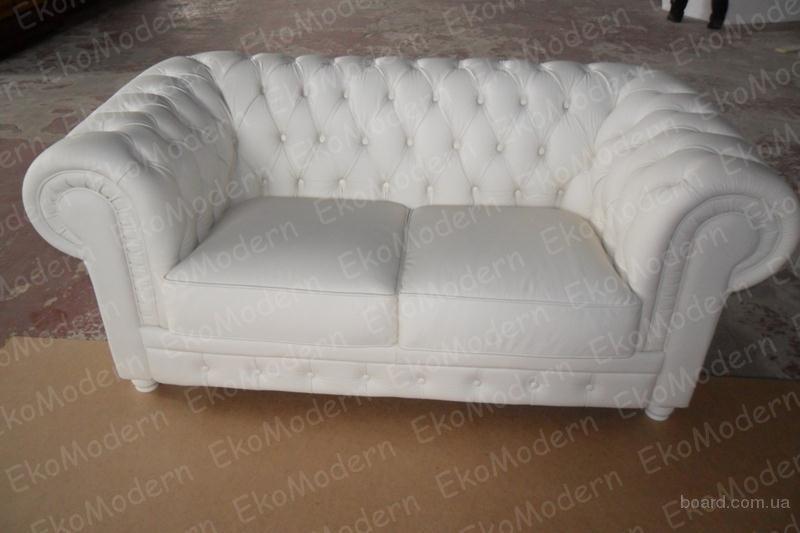 Продам диван из натуральной кожи Честер