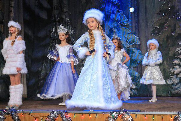 Детский костюм Снегурочка - прокат и пошив