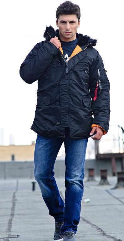 Купить куртку аляску в киеве Slim Fit N-3B Parka Alpha Industries, США