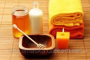 Антицеллюлитный медово-масляный массаж и массажер - Чудо варежка Варюша