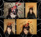 "Мистический Хэллоуин.""Каракурт "" - повязка на голову."