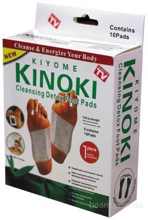 Пластырь для выведения токсинов из организма kinoki