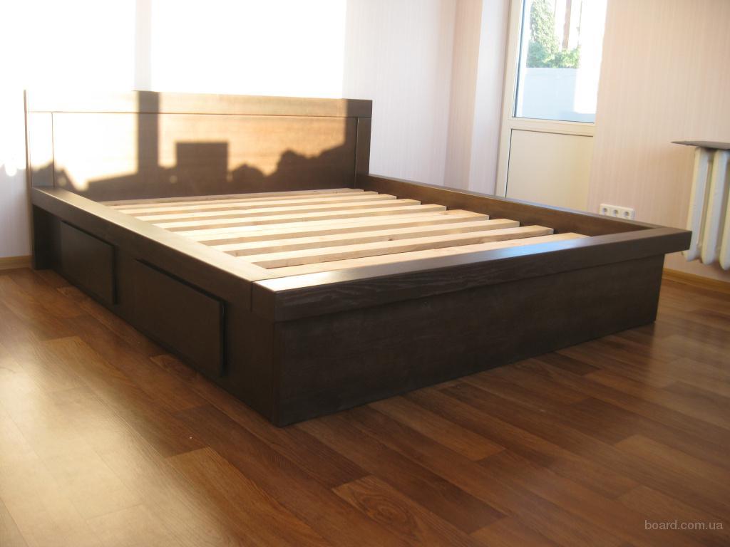 Кровать Соната из дерева
