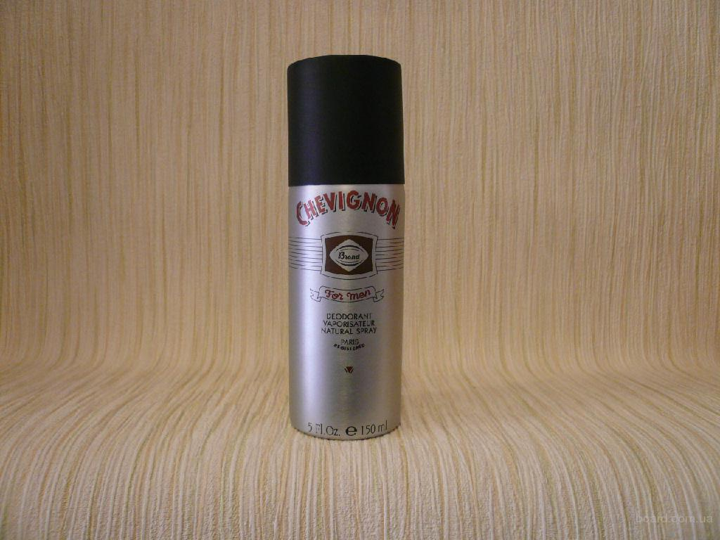Chevignon - Original Brand For Men (1992) - дезодорант 150ml - оригинал
