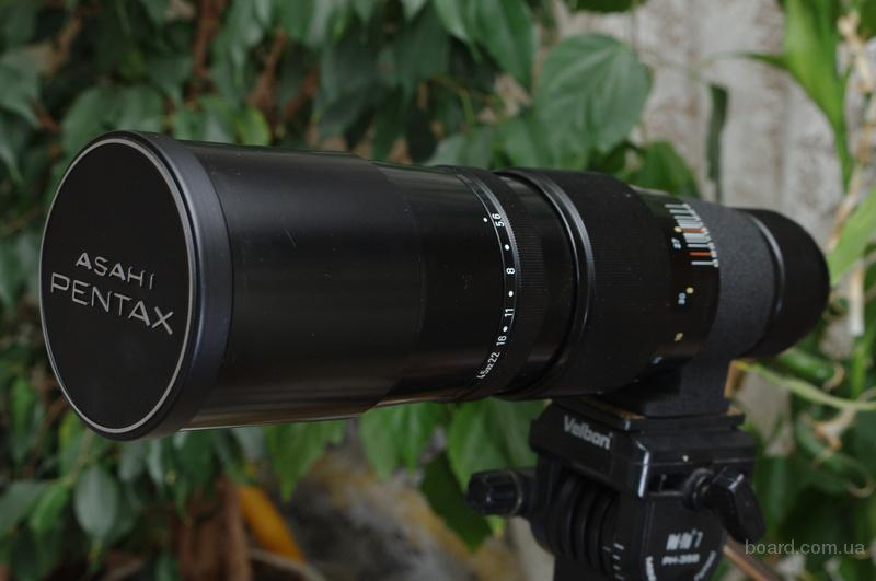 Super-Multi-Coated Takumar 1:5.6 400mm M42