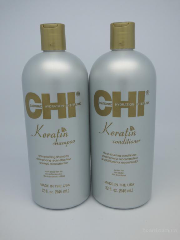 CHI Keratin Shampoo ЧИ Кератиновая Линия Восстанавливающий Шампунь 946мл.