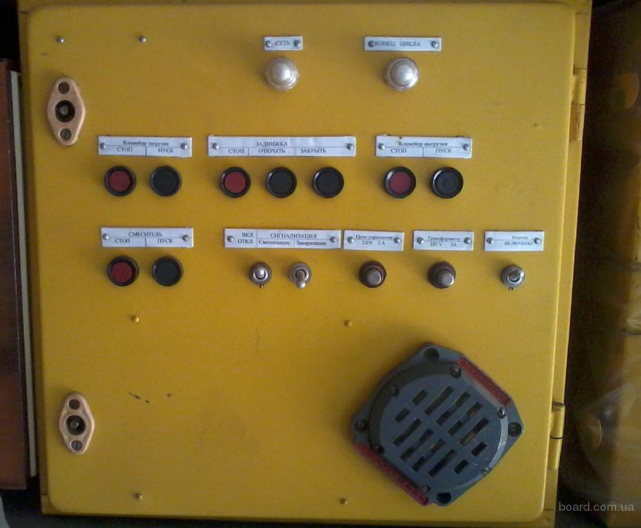 Шкаф управления смесителя СКО-Ф-6