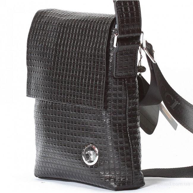 Мужская сумка stefano ricci 8620 2 черная