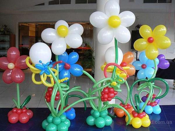 Воздушные шары на День рождения в Донецке