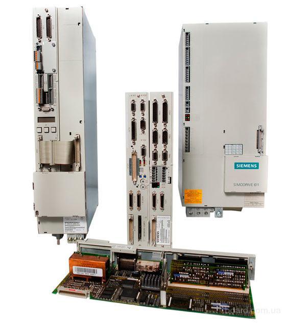 Промышленная электроника фирмы Siemens для станков с ЧПУ