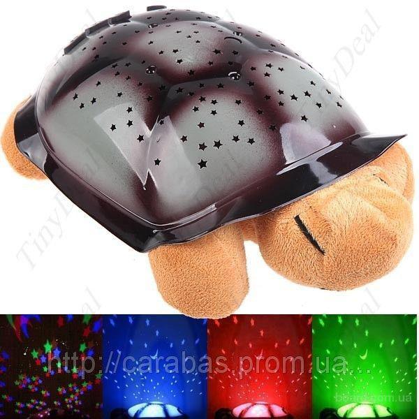 Светильник  Музыкальная черепаха - детская игрушка