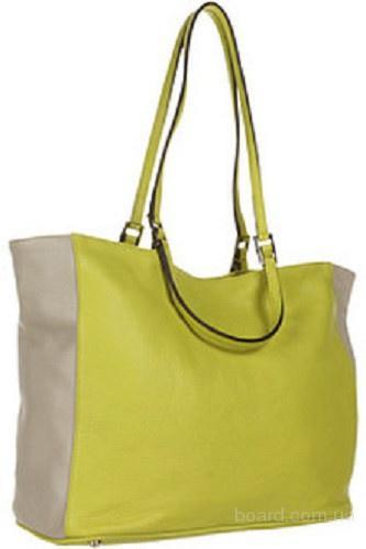 Сумка Furla Green lime Gemini M Shopper,оригинал