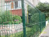 Забор из сварных панелей V-образные